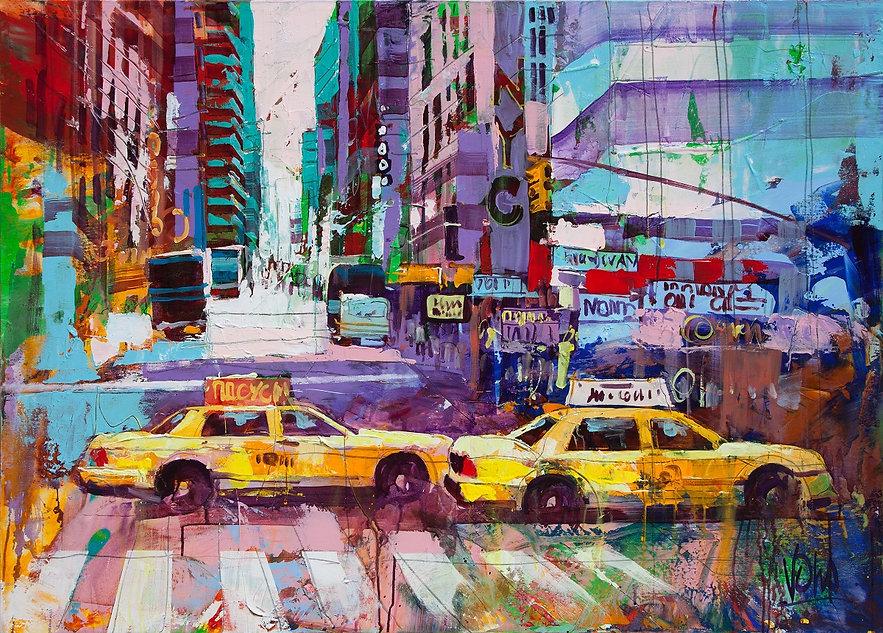 Lohme Art Gallery, Voka, NYC, 100x140 cm