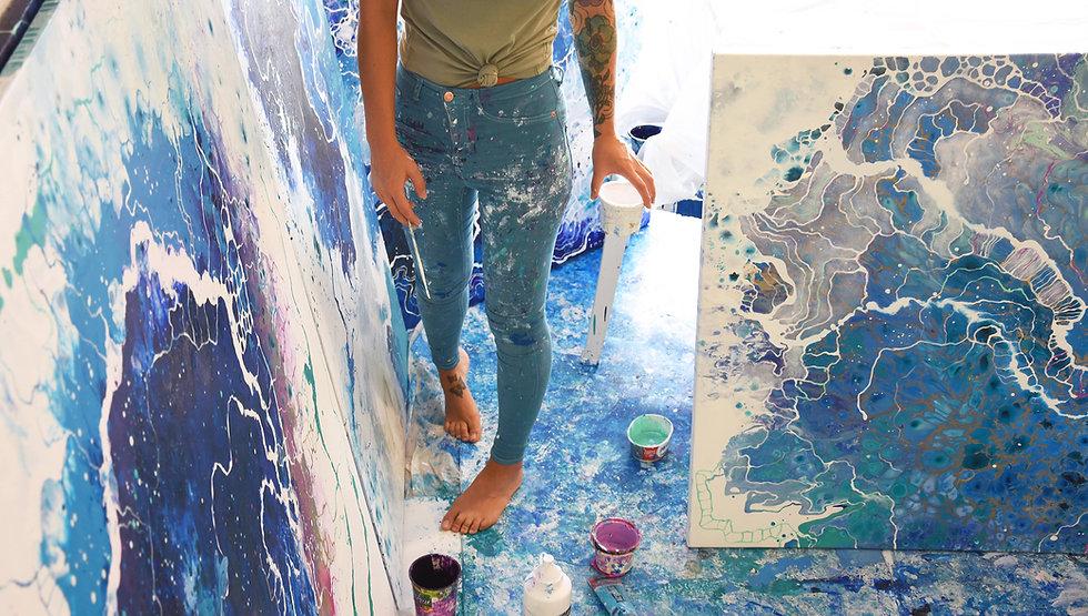 Emma Lindstrom Studio Lohme Art Gallery.
