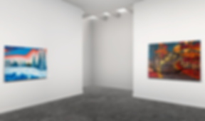 Lift art gallery, virtual exhibition, 3d art show, David Tomlin, buy art