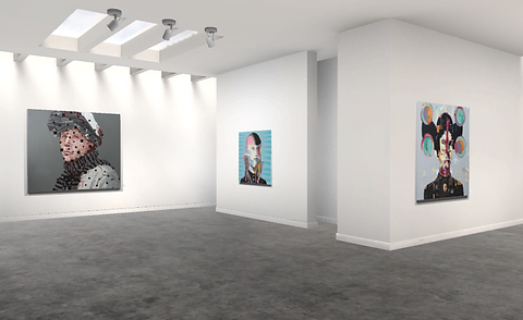 Erik Formoe, Lift art gallery, virtual exhibition, 3d art show