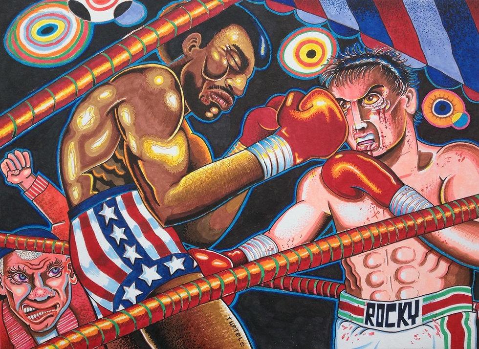 Rocky Balboa vs Apollo Creed_SOLD.jpg