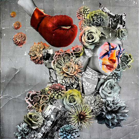 AM DeBrincat Floral Gravity Lohme Art Ga