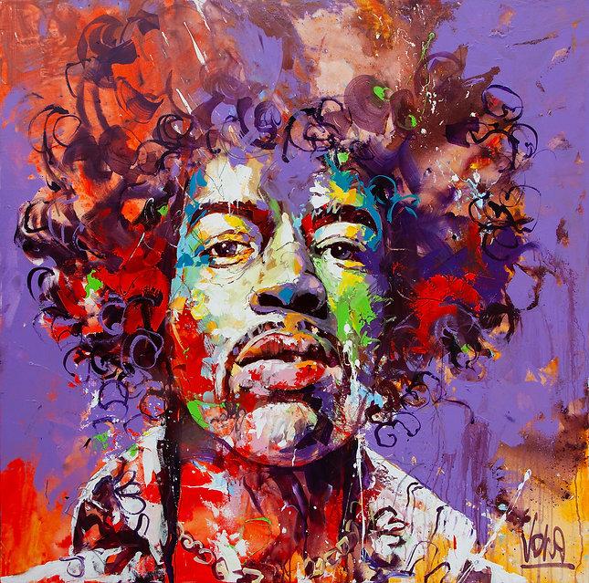 2021 07 Jimi, 140x140 cm, Acrylic on Canvas.jpg