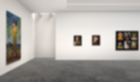 Lift art gallery, virtual exhibition, 3d art show, Lyndall Bass, buy art