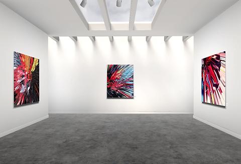Lift art gallery, virtual exhibition, 3d art show, Sian Trombley, buy art