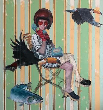 """Emanuel De Sousa, Lohme Gallery, """"Captai"""