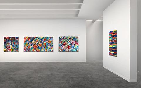 Lift art gallery, virtual exhibition, 3d art show, Preston M Smith, buy art