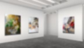 Lift art gallery, virtual exhibition, 3d art show, Frederic Paul, buy art