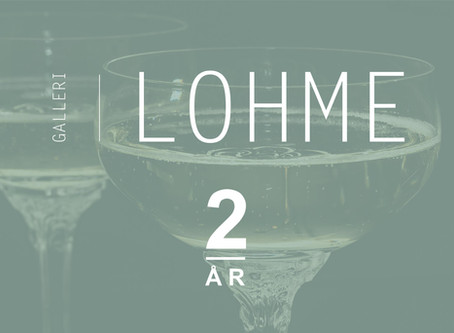 Galleri Lohme 2 år