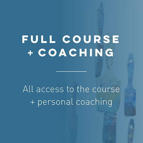 Full course and coaching