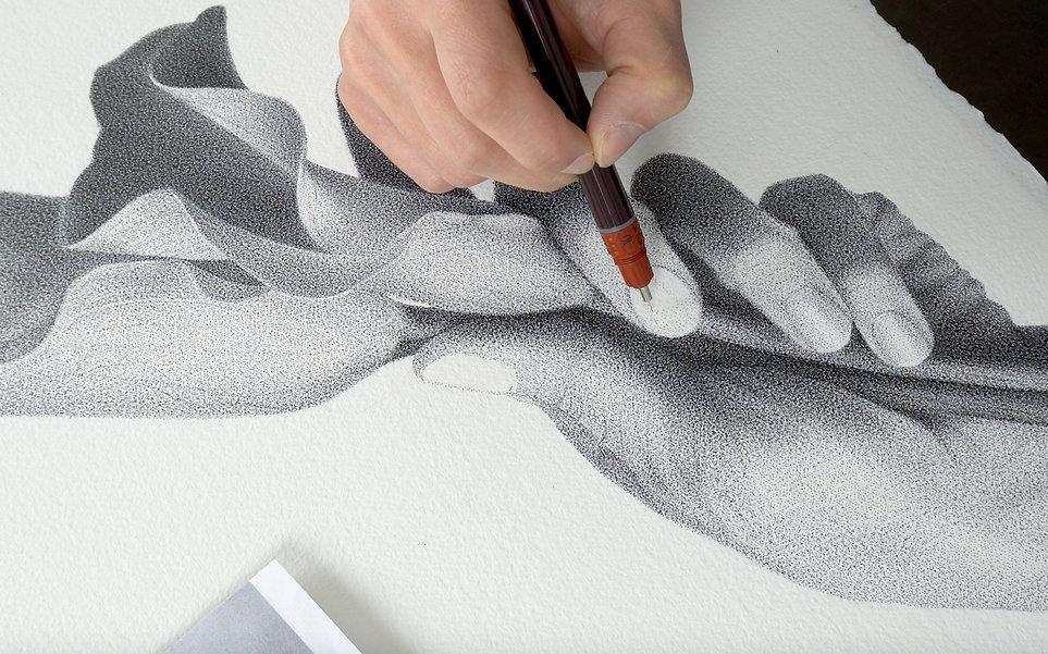 Lohme Art Academy, Julia Koceva, Hand de