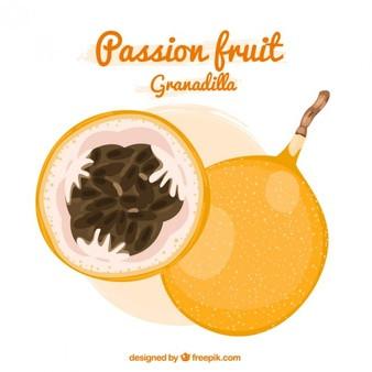 パッションフルーツ グラナディラ(オレンジパッションフルーツ)