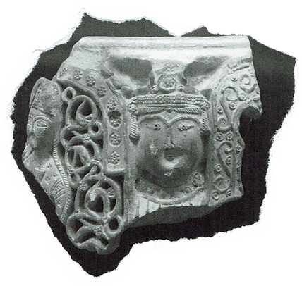 Enki God artifact from British museum. Inspiration for handmade ceramics