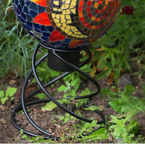 Mini Helix Gazing Globe Stand