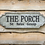 "Thumbnail: Galvanized Metal Sign - ""The Porch"""
