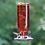 Thumbnail: Elegant -Red- Antique Glass Bottle Hummingbird Feeder