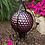 "Thumbnail: Translucent Purple Embossed Gazing Globe 10"""