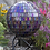 Thumbnail: Parti-Colored Mosaic Gazing Globe 10""