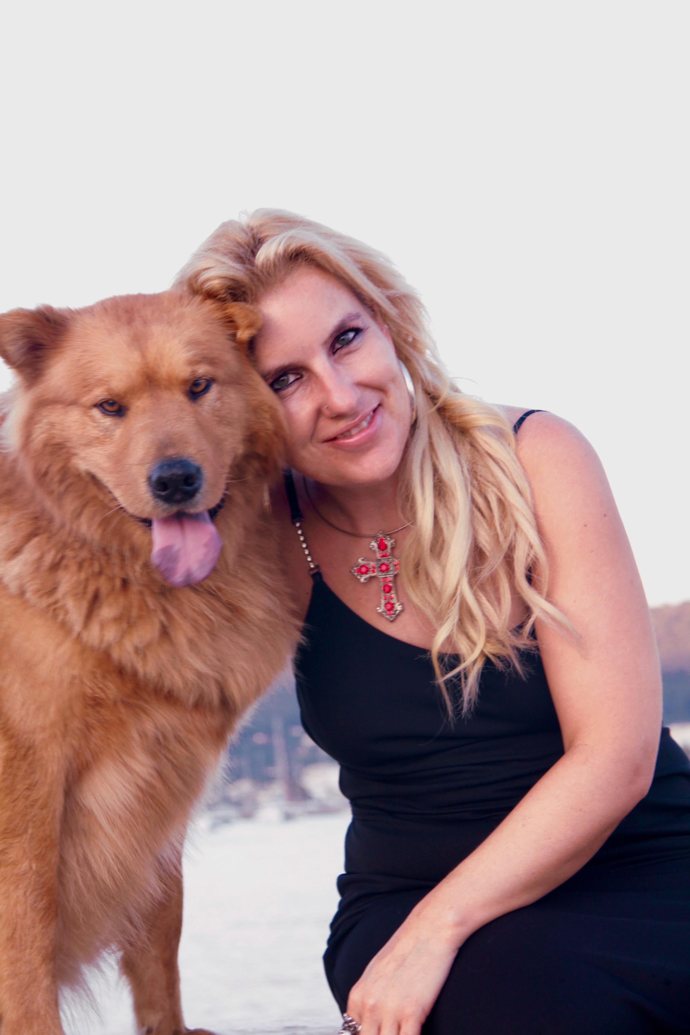 Claudia Hagn und Teddy