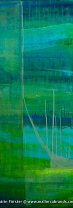 Elements 33, 70x160 cm by Katrin Förster