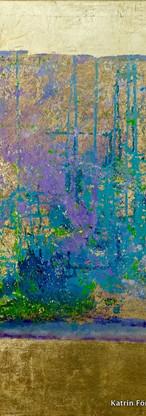 Elements 34, 100x100 cm by Katrin Förster