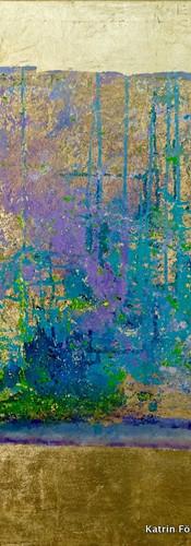 Elements 34, 100x100 cm by Katrin Förste