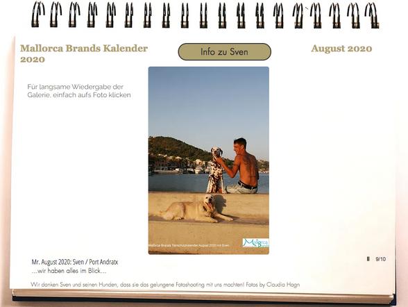 Tierschutzkalender Mallorcabrands Sven 3