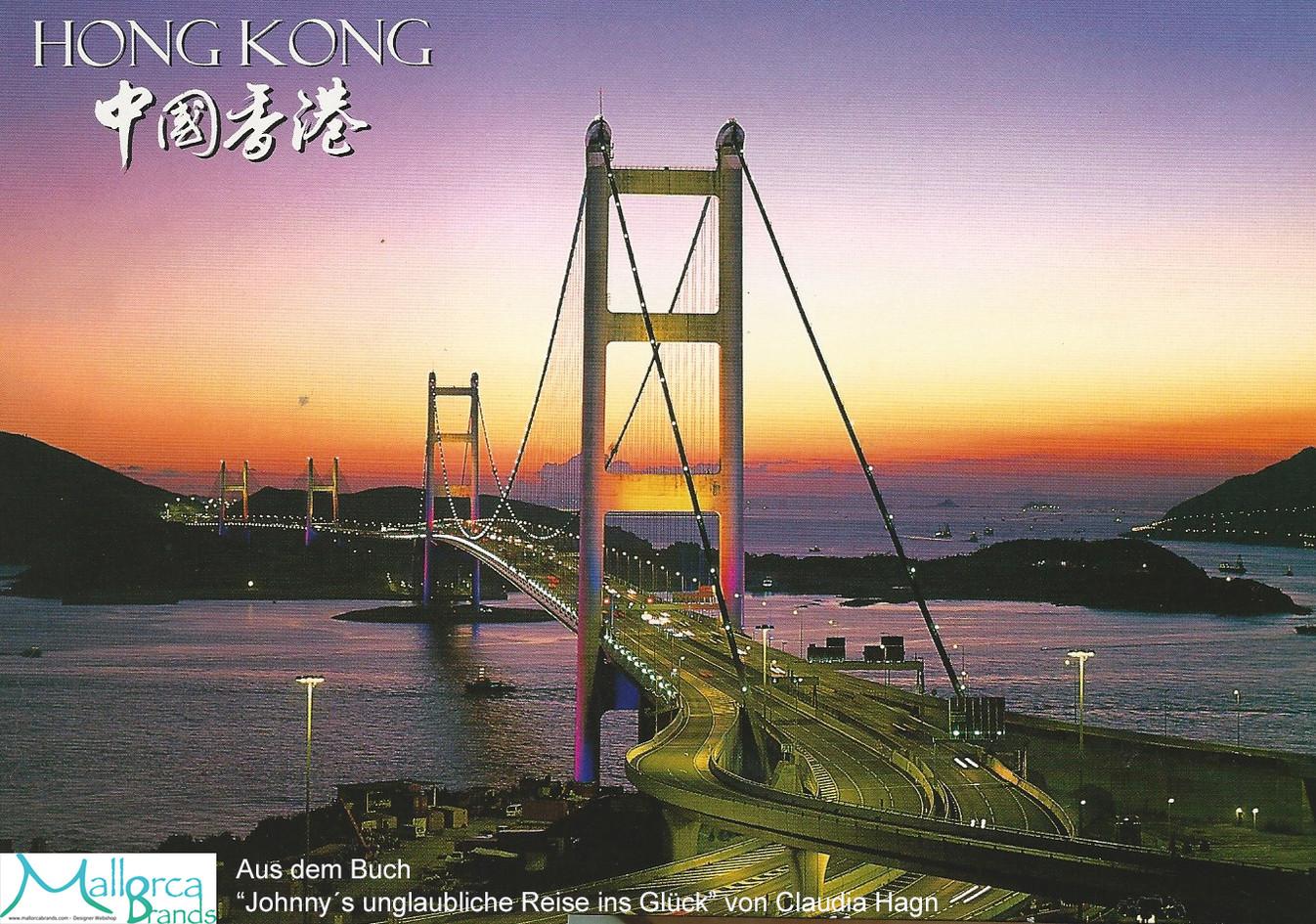 Brücke nach Lantau in China
