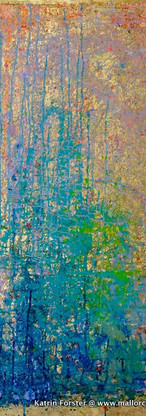 Elements 35, 100x160 cm by Katrin Förste