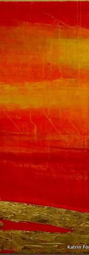 Elements 23, 140x140 cm by Katrin Förste