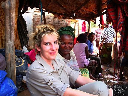 Bei den Damastfärberinnen in Mali