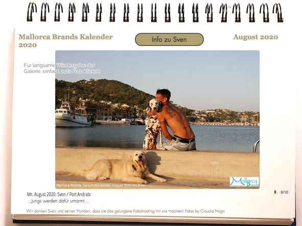 Tierschutzkalender Mallorcabrands Sven 4