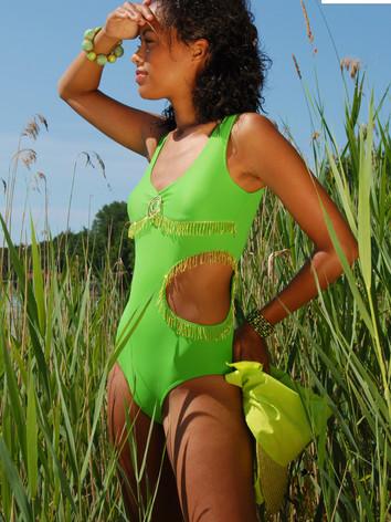 Badeanzug green hopper aus der Kollektio