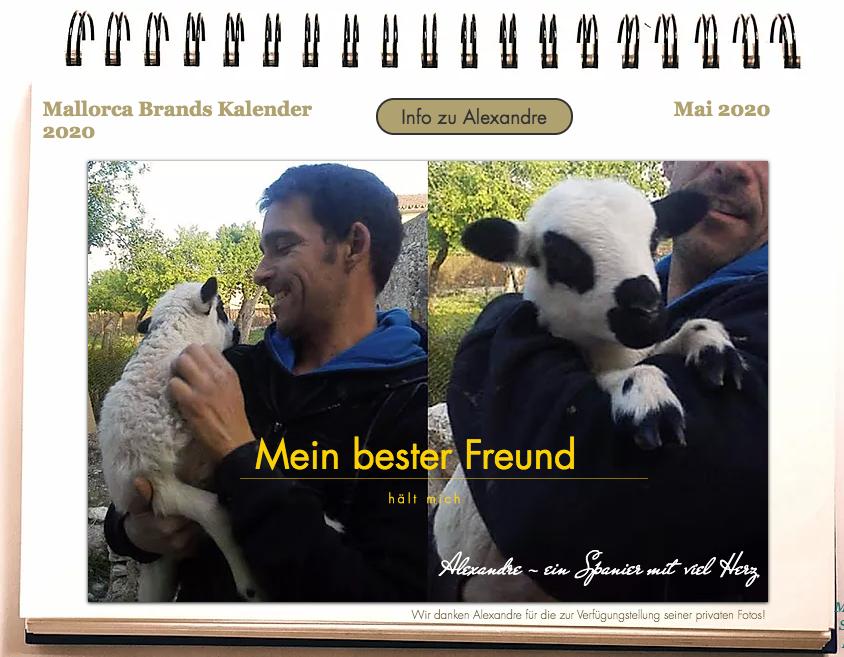 Mr. May im Tierschutzkalender