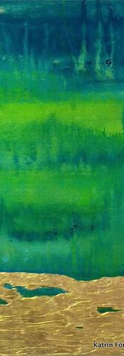 Elements 24, 140x140 cm by Katrin Förste