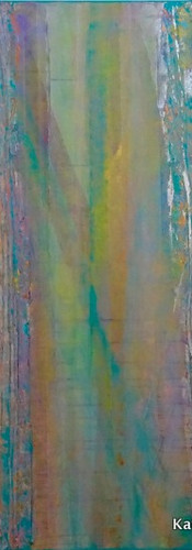 Elements 21, 195x130 cm by Katrin Förste