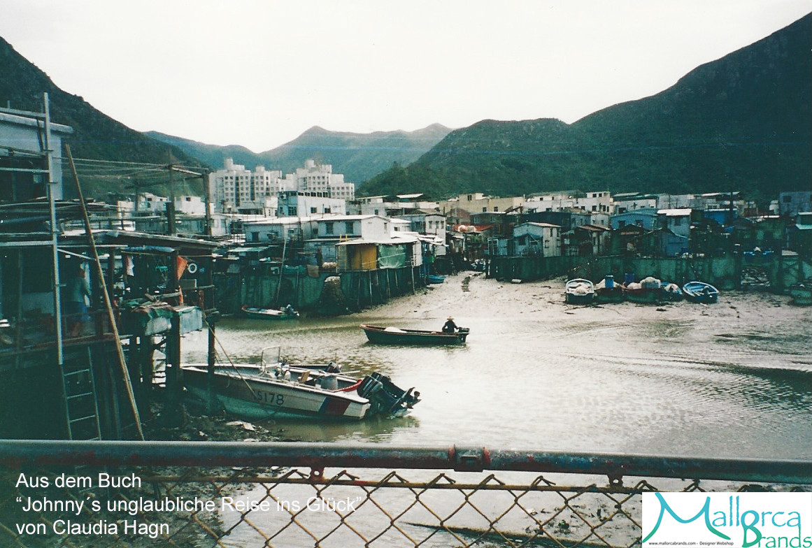 Mein Geburtsort Tai-O kurz vor Ebbe