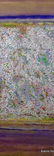 Elements 36, 100x100 cm by Katrin Förste