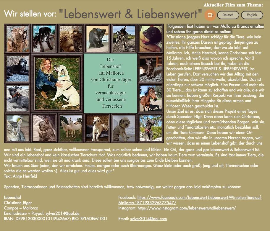 Tierschützer des Monats: Christiane Jaeger