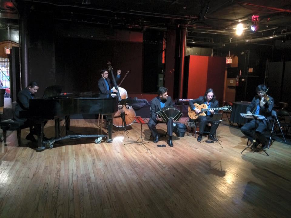 Quinteto Leopoldo Federico en New York