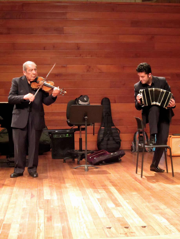 Suárez Paz y Giovanni Parra