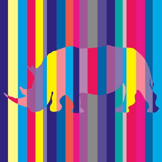 Rhino Stripes No1