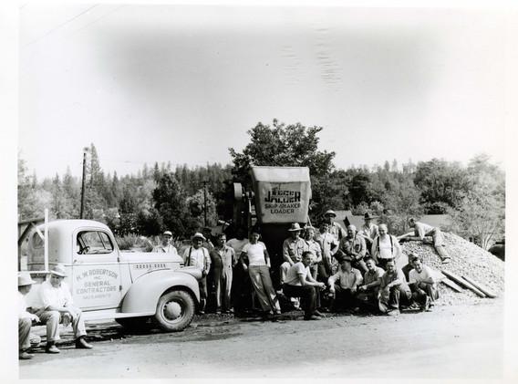 1949 Fire House Volunteer Crew Ken Loomi