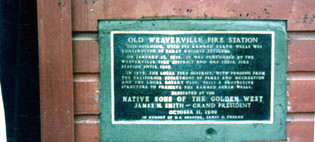 10-11-1996 Historic Fire Hall Plaque Ded