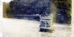 1955 Trinity River at Douglas City 299w