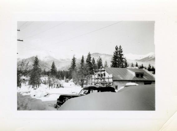 1949 Fire House under construction.jpg