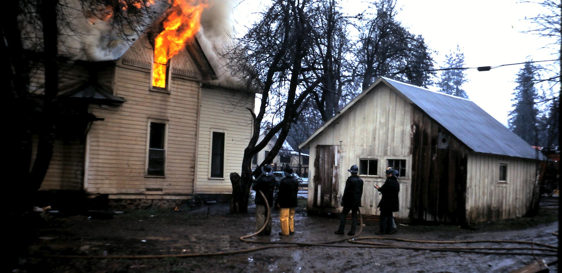 1668 Hourse Burn Training