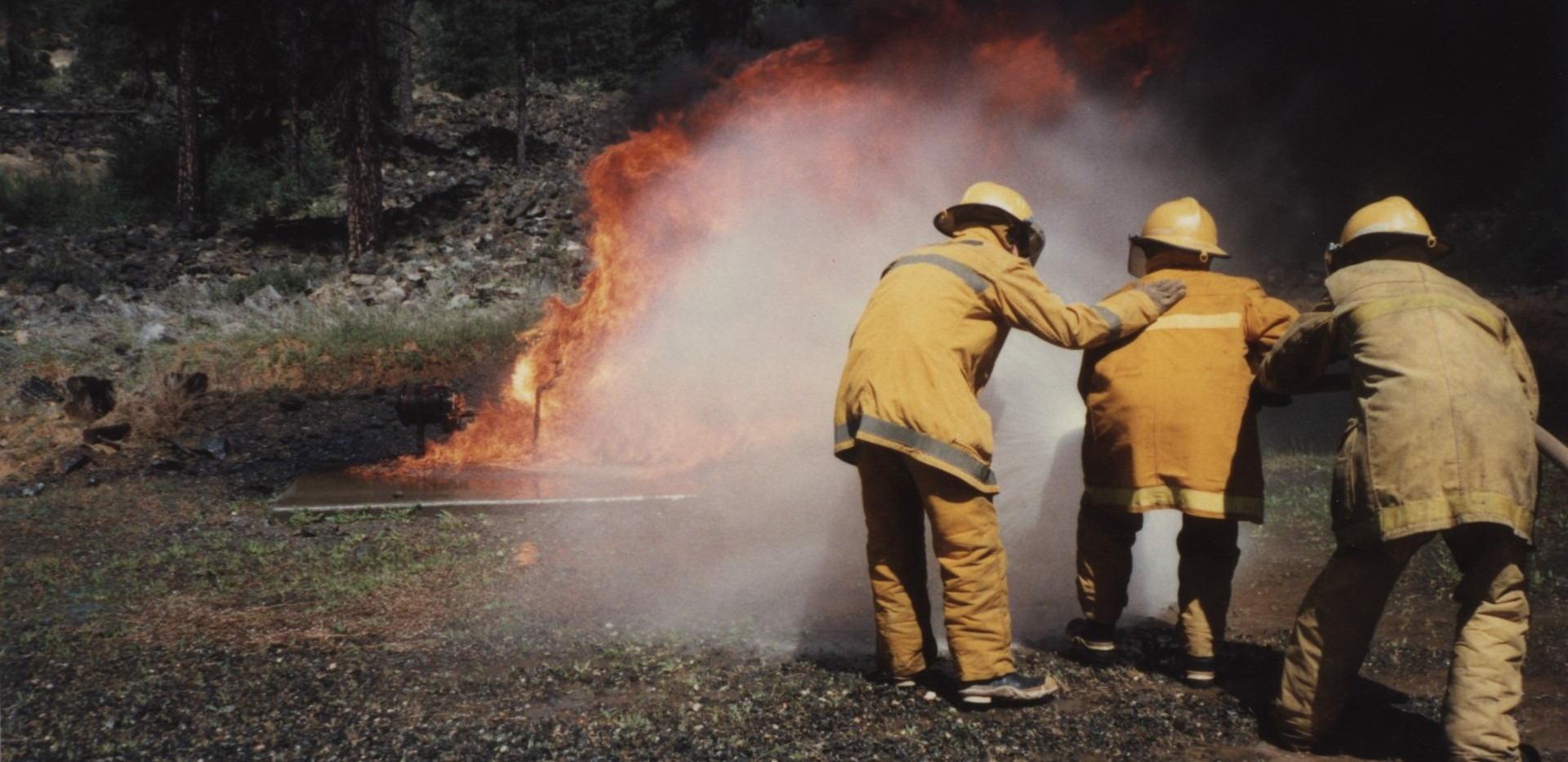 1987 Oil Fire School