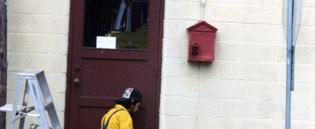 6-1981 Painting Fire Station Graden Gulc