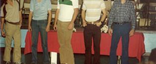 1981 Dept Annual Awards Party16 Junior M